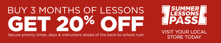 20% off 3 months of lessons